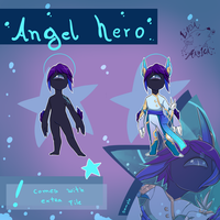 (closed) Angel Hero Ojito by LobaMagica