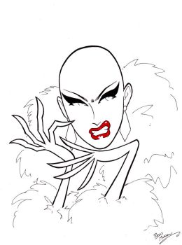 Sasha Velour by BevisMusson