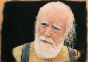 TWD Hershel - We all have jobs to do. by NoraJacksonArt