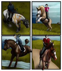 SWS Cross-Country Relay by lionsilverwolf