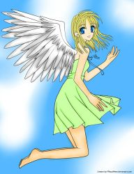 The Eternal Angel by USA-FilipinoArtista