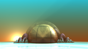 dIFS Pong with Jody - 22b, Sunrise Planet by WelshPixie