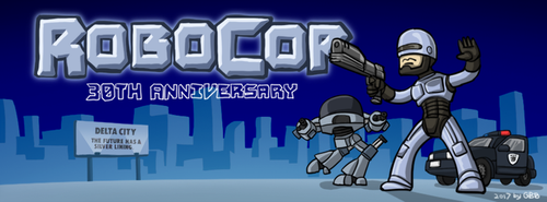 Robocop 30th Anniversary by GRANDBigBird