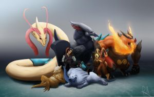 Pokemon Team REDUX!