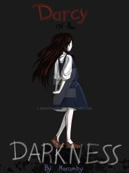 Darcy of the Darkness Cover by MaroDraxon