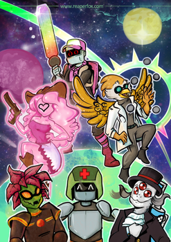 Starbound! by reaperfox