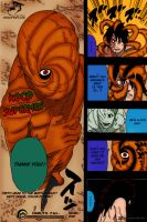 Uchiha Obito Combines with Tobi - Naruto Manga 603 by koco1111