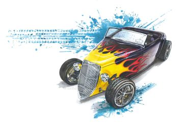 Ford Hot Rod by malmdp