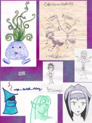 collage of old stuff 8: fanart by tirsden