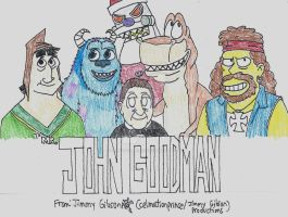 John Goodman Tribute by CelmationPrince