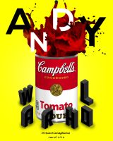Tribute To Andy Warhol by xavierlokollo