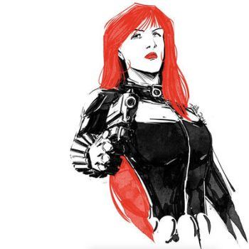 Black Widow by DougHills