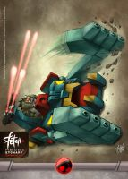 26/27 MUTANT TANK by FranciscoETCHART