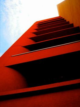 Tall Red Building by jumana-b