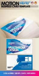 Motion Business Card by cooledition