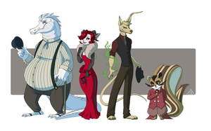 Neopets Line-Up by dislakeThep