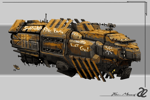 Allied Enemies ROW Faction Battleship by KevinMassey