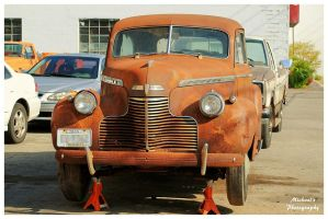 A Very Rusty Chevrolet - Front View by TheMan268