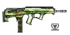 Fictional Firearm: HC-545 Submachine Gun by CzechBiohazard