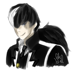 Here take a blackquill by Gameaddict1234
