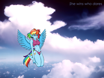She wins who dares by amiwakawaiidesu