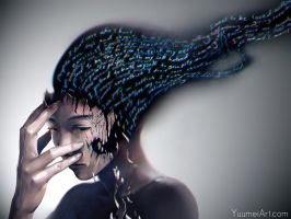 Porcelain Lies by yuumei