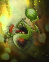 Slimer - Ghostbusters by Wagnr