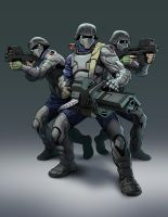 RvM Basic Troopers by HenryPonciano