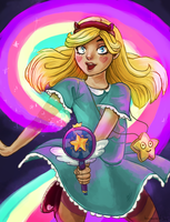 Star Butterfly by TigerMoonCat