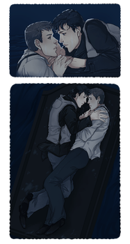 DC Titanic!AU: Together on the Water by nella-fantasiaa