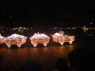 Main Street electrical  parade 25 by MightyMorphinPower4