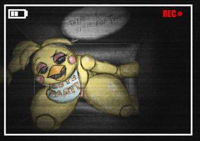 2nd Quick Toy Chica sketch by DatBritishMexican