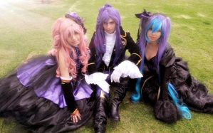 Vocaloid Sandplay of the singing dragon by HaruhichanxD