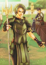 FE: Are You Here For Training by Card-Queen