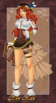 Commission: Steampunk by a-l-m