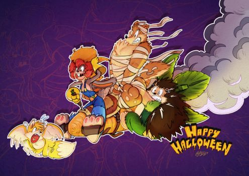 Happy Halloween 2014 by PitiYindee