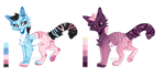 Free Adopts (Closed) Catty by Liannell