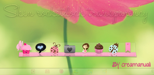 skin rocketdock transparency by creamanuali