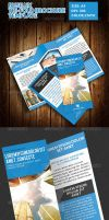 Busilux Corporate Tri-Fold Brochure Template by ExtremeLogo