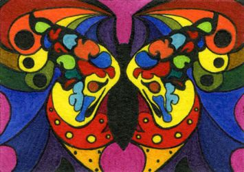 Butterfly by kalamate