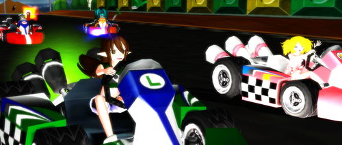 MMD OC Racing by ZatchHikaru