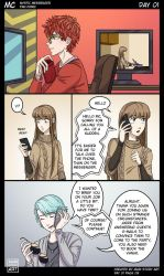 MC Day One Pg 9 Mystic Messenger by MariStoryArt