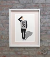 Troye Sivan Minimalist Poster by Posteritty by Posteritty