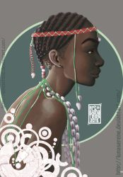 Angola's Pearls by lunaSerene