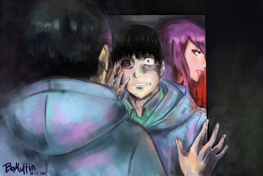 Tokyo Ghoul Ep1: Revealing Whats Within by BoMuffin