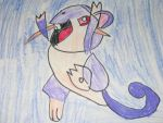 Rattata drawing by MewMewMinto1123