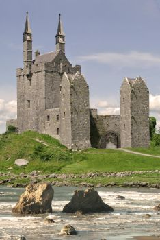 Castle By the Sea by SusieStock