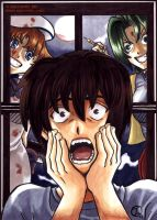 Keiichi is Home Alone by sincomix