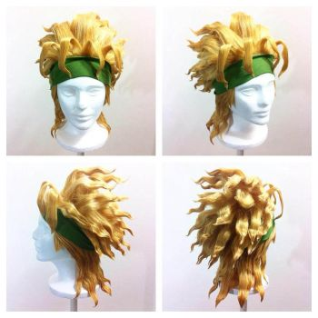 Dio Brando wig commission by Pisaracosplay