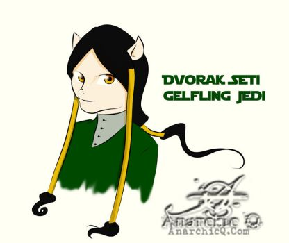 Dvorak Seti - Happy Gelfling Jedi by AnarchicQ